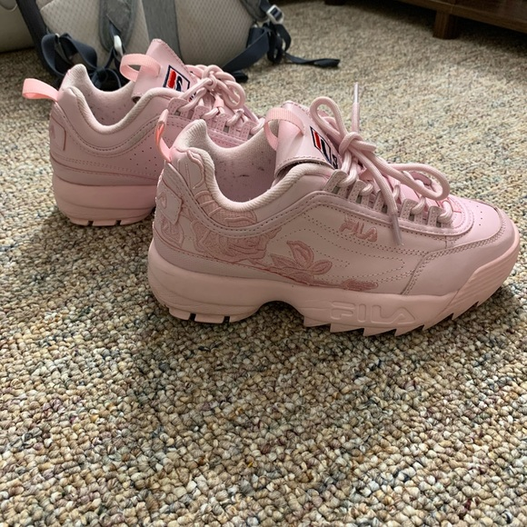 Fila Shoes   Pink And Rose Fila Shoes